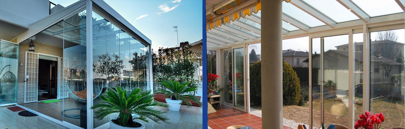 Realizzazione e vendita vetri balconi e terrazze Roma