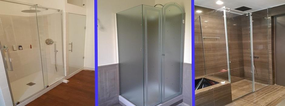 Produzione vetri su misura roma vendita vetro temprato misura - Cabine doccia su misura ...