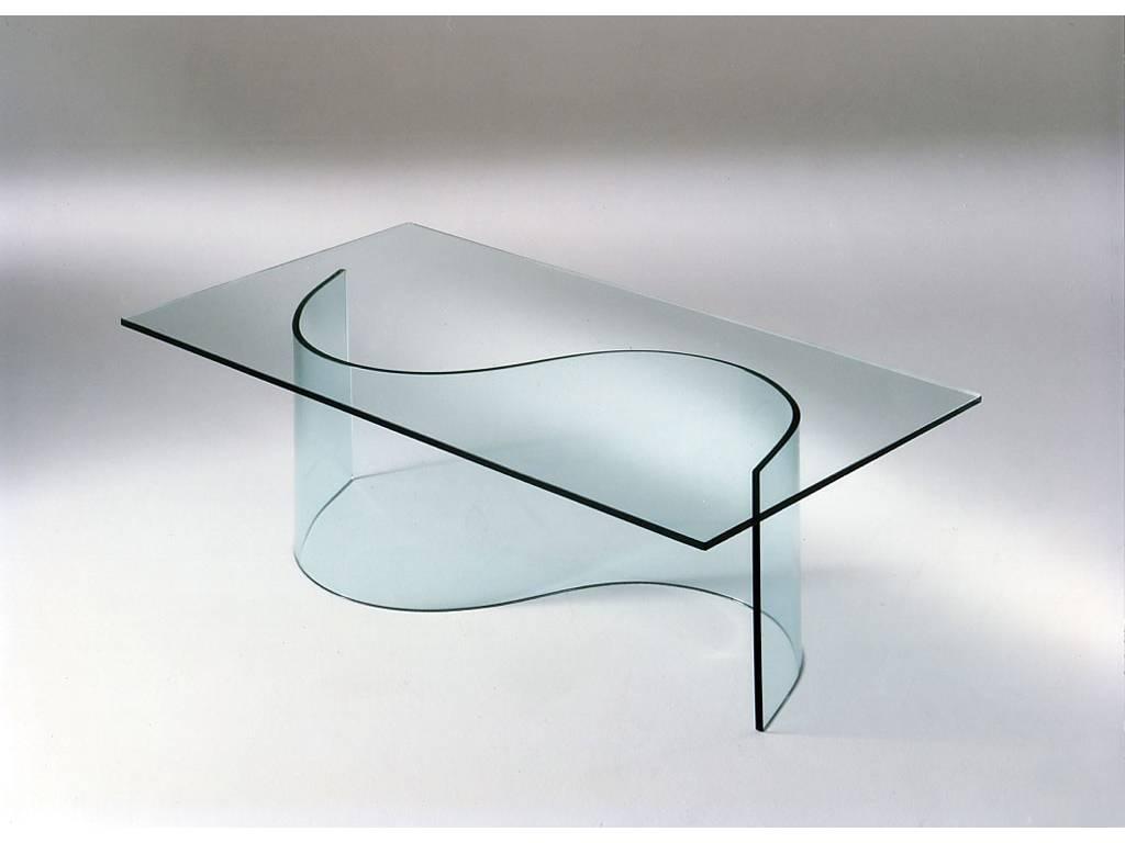 Tavoli di cristallo for Tavoli di design in cristallo
